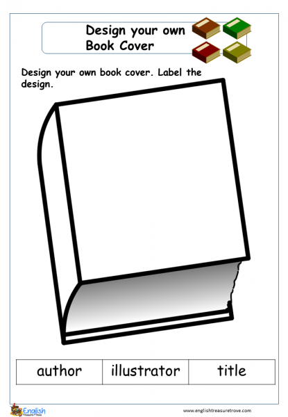 picture relating to Worksheet Design called Layout a Ebook Deal with English Creating Worksheet English