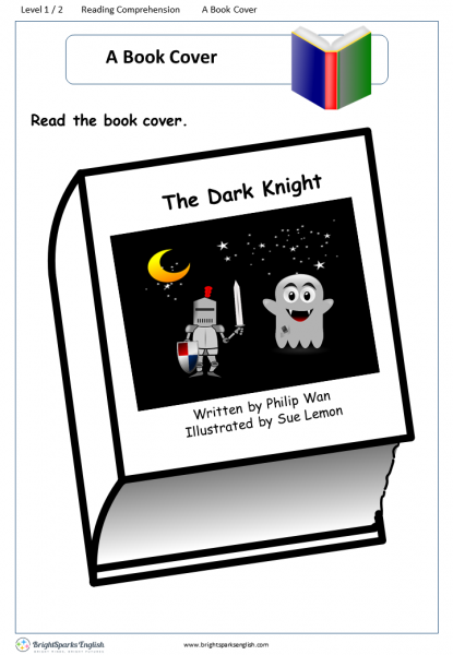 reading comprehension level 1 A Book Cover