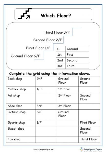 Which floor r g
