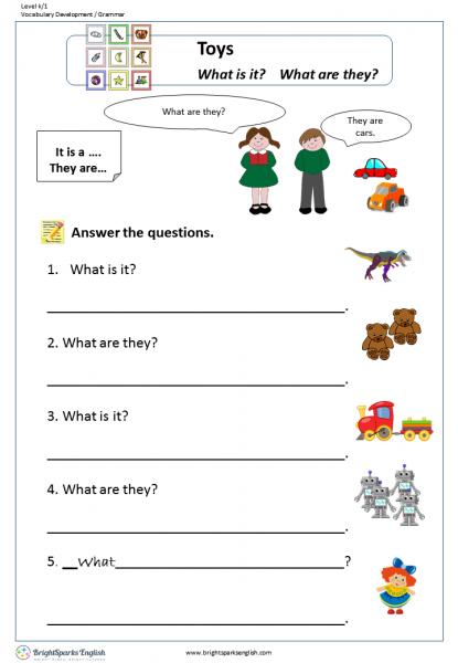 Is/are English Grammar Worksheet – English Treasure Trove