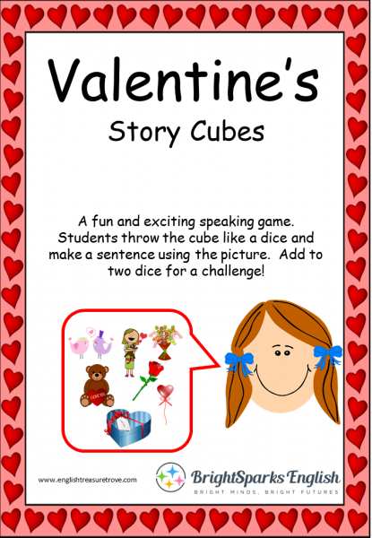 valentine's story cubes