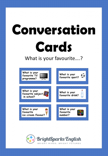 English Conversation Cards – English Treasure Trove