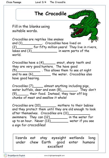 The Crocodile 3-5