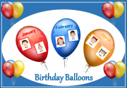 birthday balloon advert