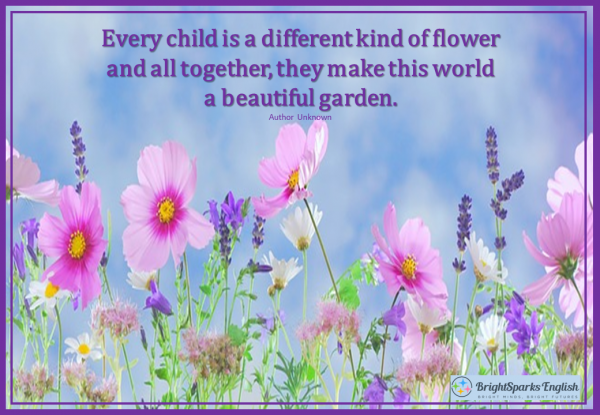 every child diff flower
