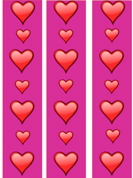 valentine's border