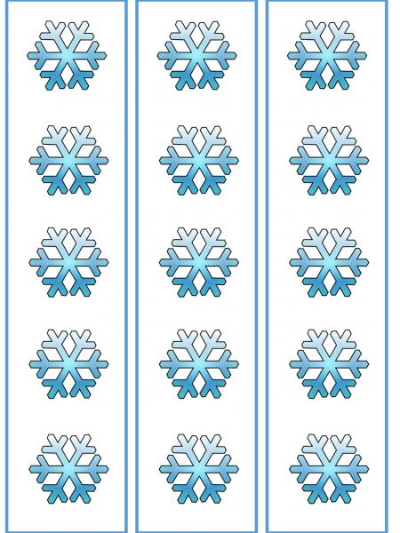 winter borders
