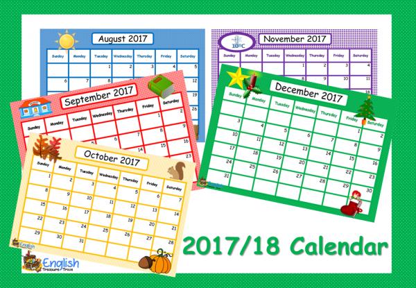 calendar 201718 a4